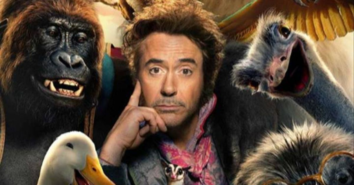 Robert Downey Jr. como Dr. Dolittle