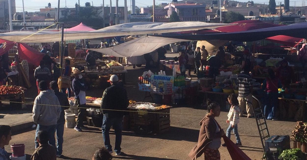 Tianguis dominical de Fresnillo